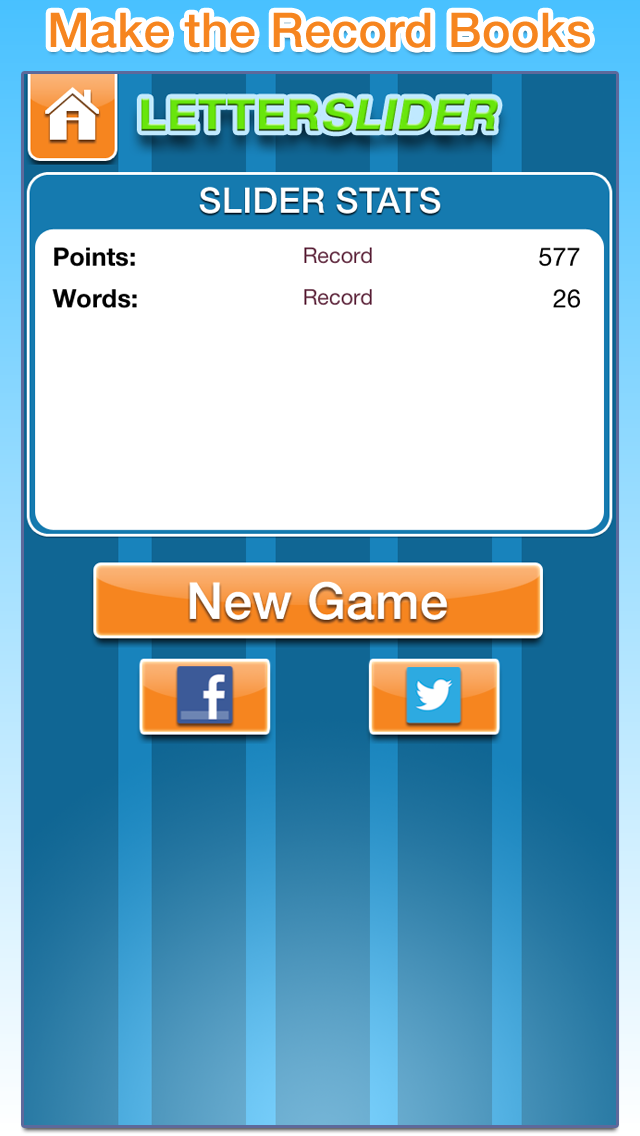 LetterSlider Original Free - The Word Search Slider Puzzle Game to Play with Friends and Family screenshot two