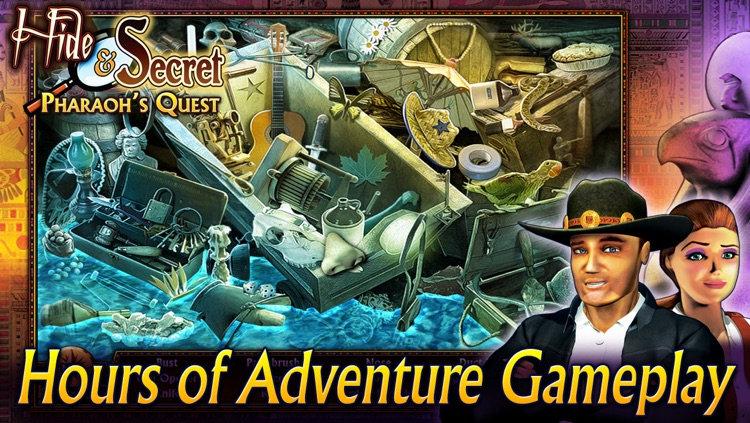 Hide and Secret: Pharaoh's Quest screenshot-4