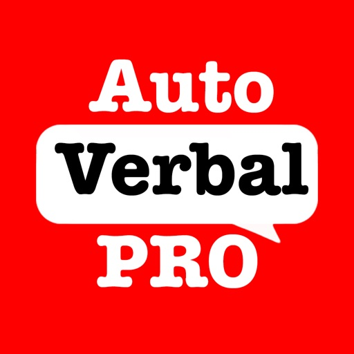 AutoVerbal Pro Talking Soundboard! AAC Chat App Speaks for Autism/Deaf/NonVerbal TTS Text To Speech Users: iPad & iPhone Edition