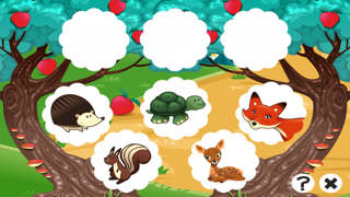 A Free Train Your Brain Educational Interactive Learning Game For Kids – Remember Me, Fox and Bambi screenshot three