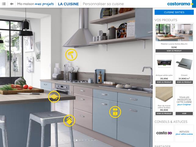 Castorama ma maison mes projets dans l app store for Castorama application