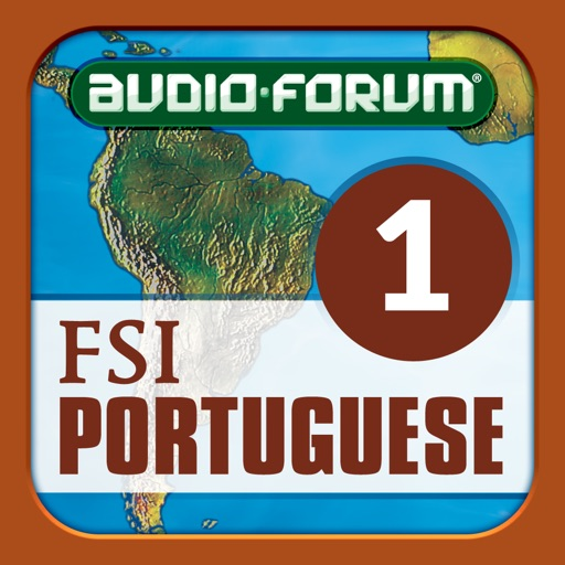 Portuguese Programmatic Course Vol. 1 (Brazilian) - by Audio-Forum / Foreign Service Institute