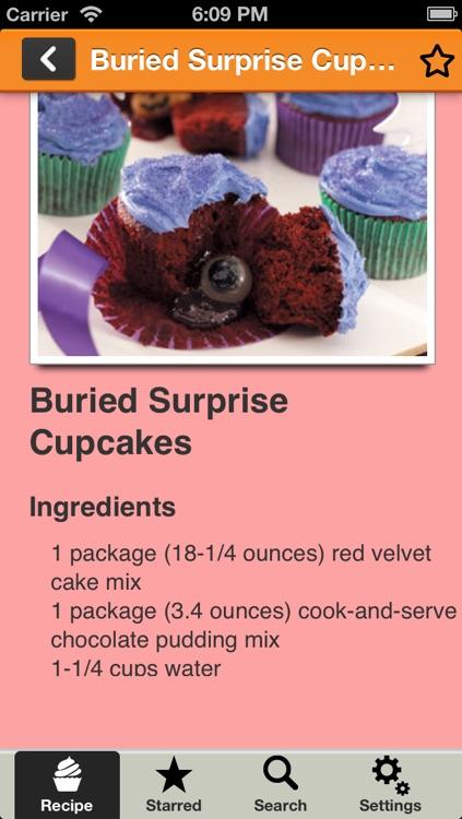 Party Cupcake Recipes 1000+ screenshot-3