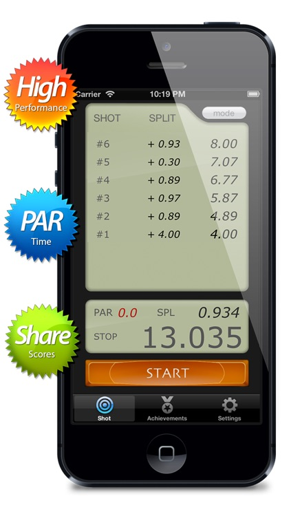 AIPSC Shot Timer (High performance shot timer)