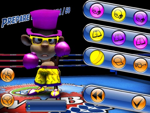 Monkey Boxing для iPad