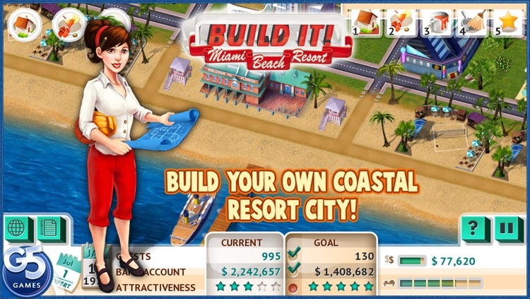 Build It! Miami Beach Resort (Full) screenshot-0
