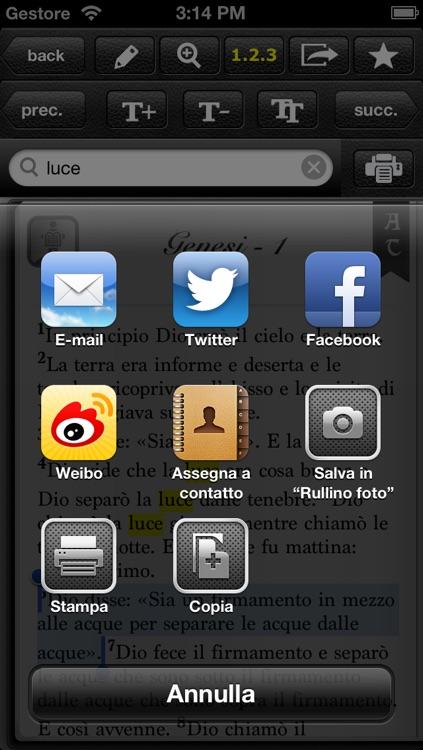 Sacra Bibbia LITE screenshot-4