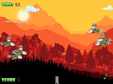 Screenshot #2 for Air Defense - Cannon fire takedown