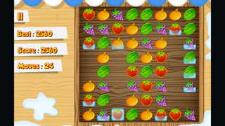 Frozen Fruit Match 3