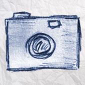 Selfie Paper Camera - Your selfies pictures in sketch mode