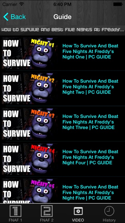 Free Cheats Guide for Five Nights at Freddy's 1 and 2 screenshot-4