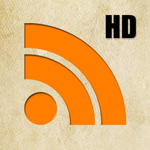 RSS Reader HD icon