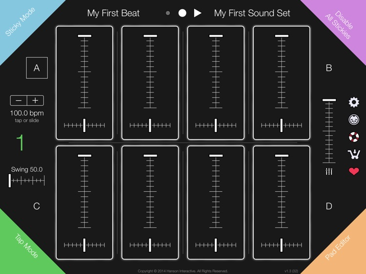 Gumdrops * beats so sweet, you're bound to get ill.® A Different Kind of Drum Machine screenshot-4
