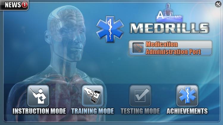 Medrills: Medication Administration Port