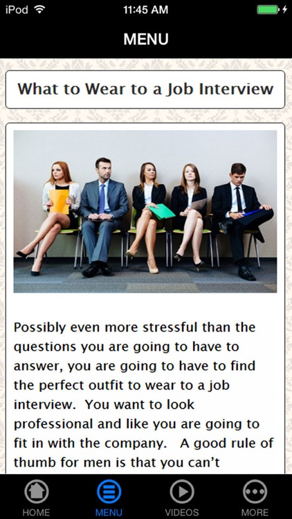 10 Myths of Job Interview Finally Shattered screenshot-1