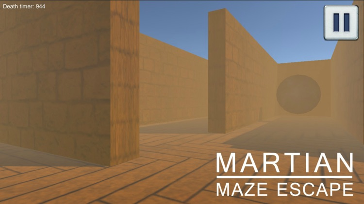 Martian Maze Escape screenshot-2