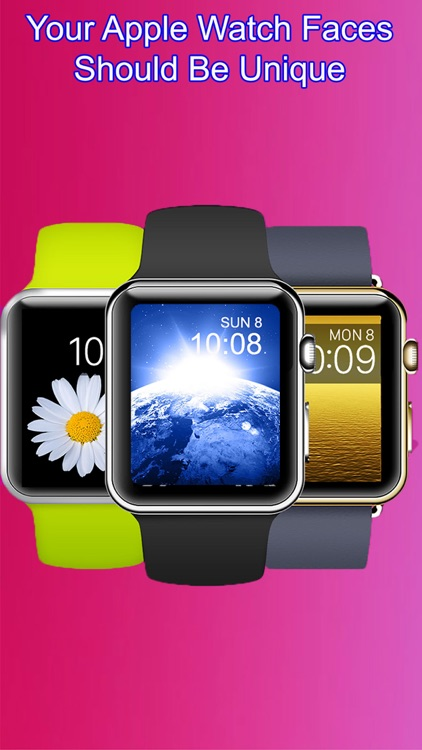 iFace for Apple Watch - Custom your watch background wallpaper screenshot-0