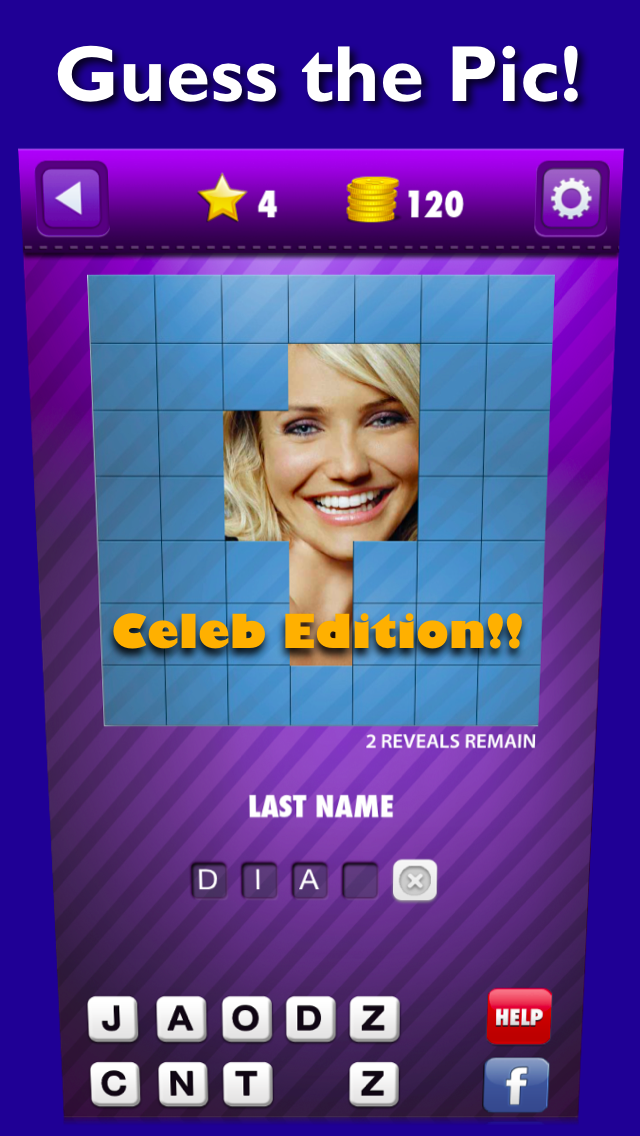 Guess the Pic! A celebrity color quiz mania game to name who's that pop hi celeb star icon!のおすすめ画像1