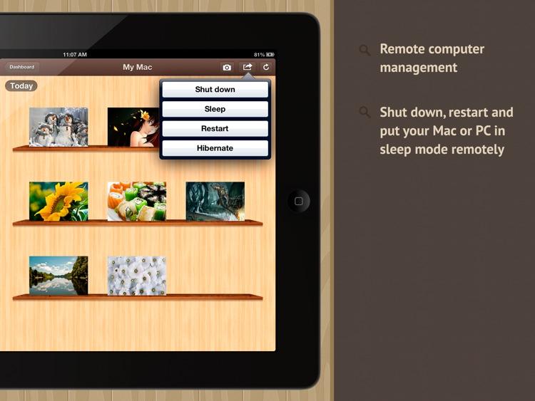 Screenshoter HD - capture screen of the remote Mac and PC screenshot-3