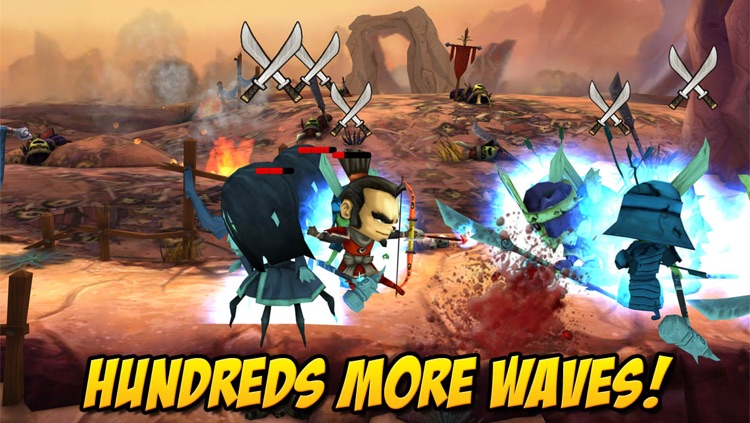 Samurai vs Zombies Defense 2 screenshot-3