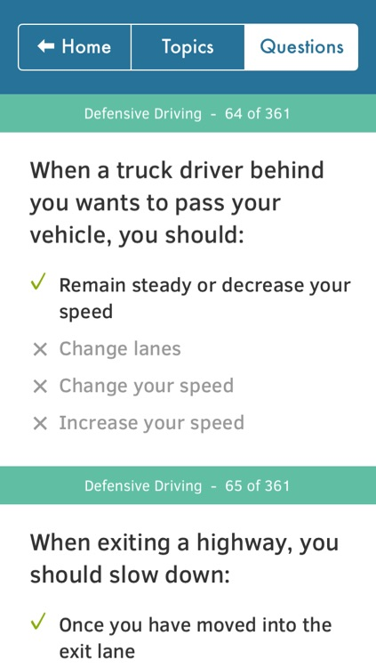 US Driving Knowledge Test Questions - Preparation for your Driver's License Written Exam - All States - DMV, DOL, or MVC - Free Drivers' Mock Tests screenshot-4