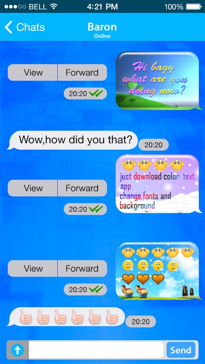 Color Text Messages + Send Color Text Messages with Emoji 2 Free