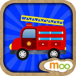First Vehicles - Things that Go! Toddler Trucks and Cars ( Interactive Games, Truck Puzzles for Baby, Toddler and Preschool Kids )