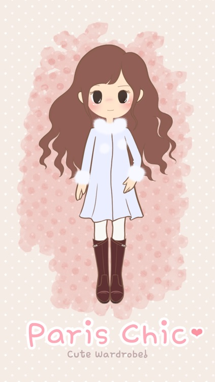 Paris Chic: Cute Dress Up Game screenshot-0