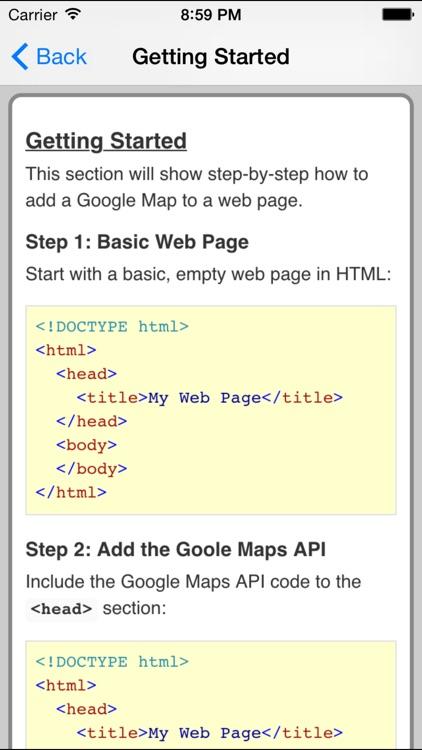 Web API for Google Maps Pro FREE by Maui IT