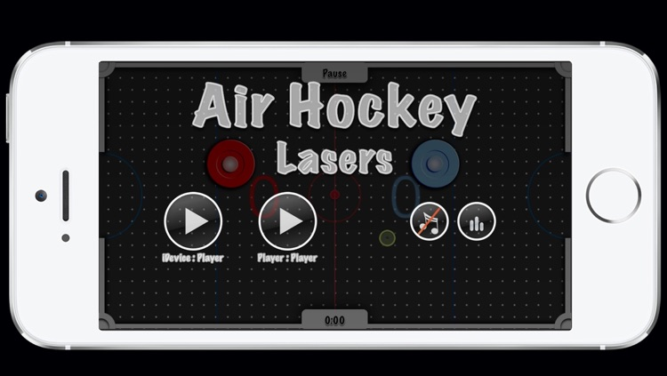 Air Hockey - Lasers 3D+