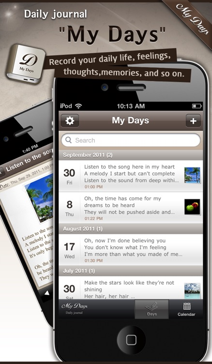 My Days - daily journal / diary / note / memo