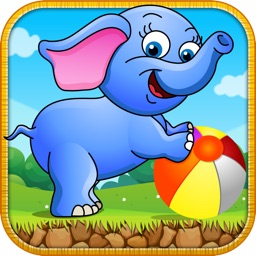 Elephant Baby Play House - Addictive Run & Jump Animal Big Ears Runner Game