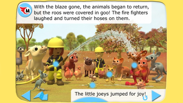 Myro and the Bush Fire - Animated storybook 2 screenshot-3