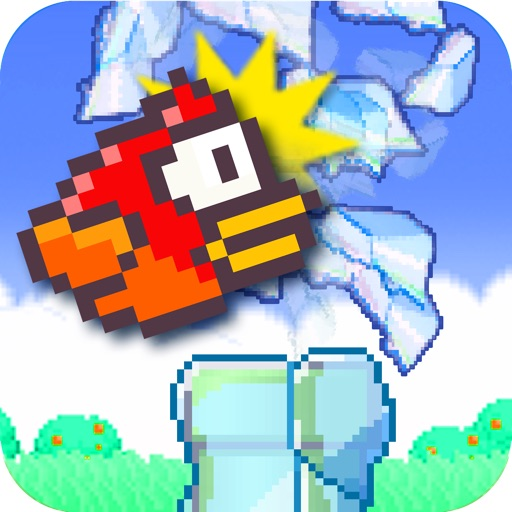 Flappy Smash - Hit the 2048 frozen tiny bird
