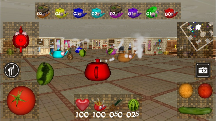 Crazy Teapots 3D screenshot-1
