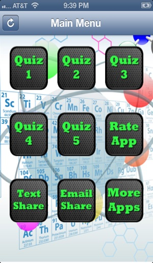 Periodic table of elements quiz on the app store screenshots urtaz Choice Image