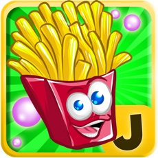 Activities of French Fries Happy Jump : Beyond the Street Food Monsters