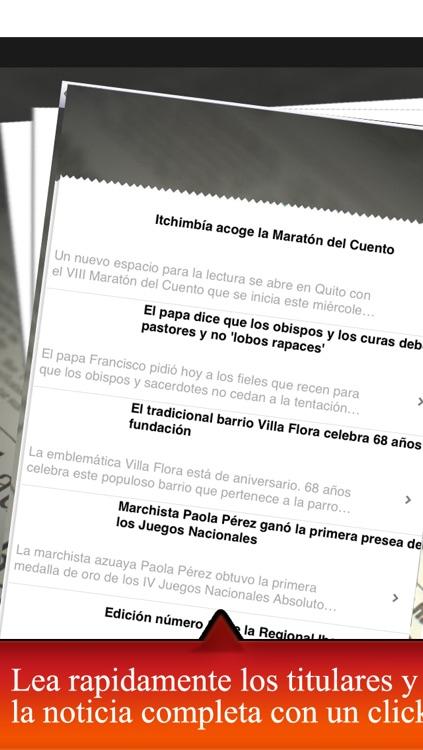 Periodicos Ecuador |  Periodicos Ecuatorianos screenshot-3