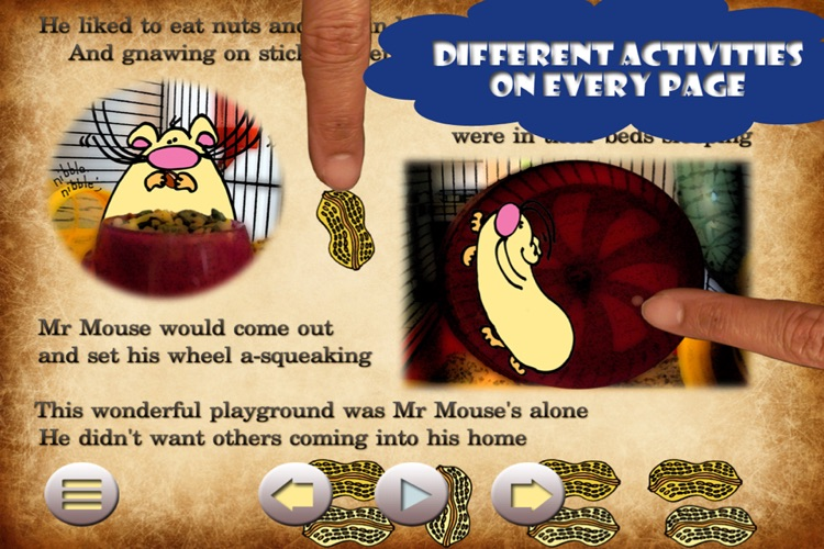 Mr Mouse : Kid's Books Interactive - for iPad and iPhone