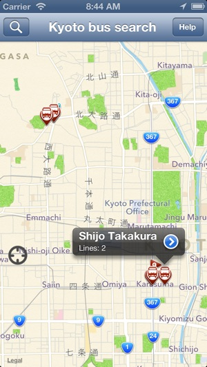 Kyoto simple bus search on the App Store
