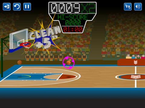 Игра Basketmania All Stars