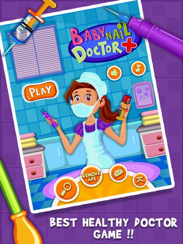 Baby Nail Doctor- Girls & Fun Kids Games-ipad-0