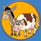 Tiere des Bauernhofes und meine Kinder - kostenlos spielen icon
