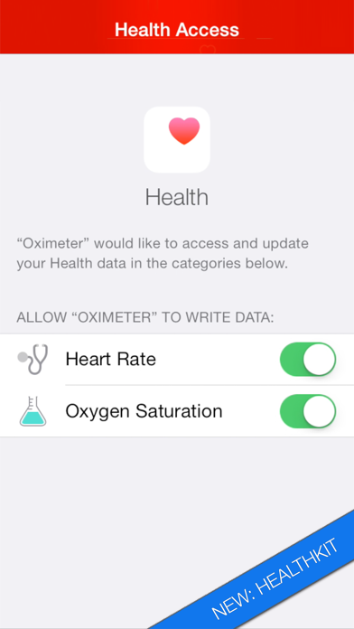 Pulse Oximeter - Heart Rate and Oxygen Monitor App app image