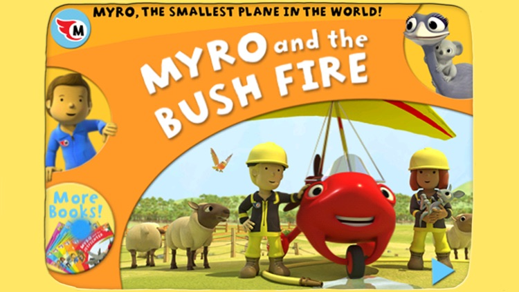 Myro and the Bush Fire - Animated storybook 2