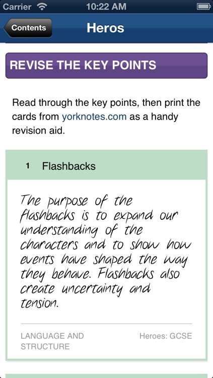 Heroes York Notes GCSE screenshot-4