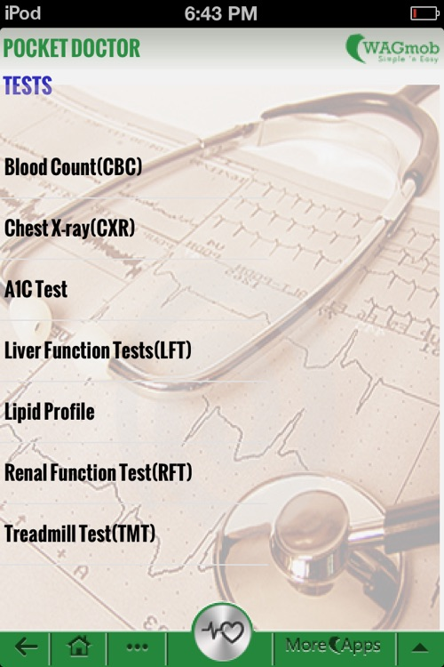 Pocket Doctor by WAGmob. screenshot-4