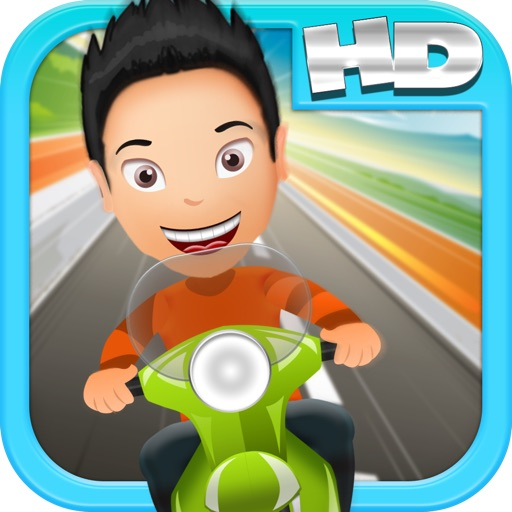 Kelvin's Saigon Cupcake Scooter Racing Adventure HD icon