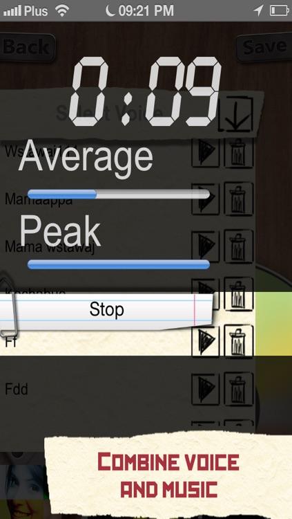 Alarm Clock - Wake Up Babe - Record Your Favourite Voice as a Custom Alarm screenshot-3