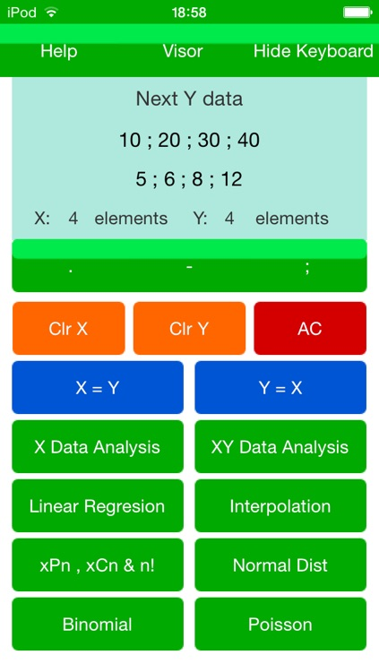 Statistical & Probabilistic Calculator